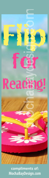 print bookmark: Flip for Reading!