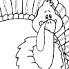 view and print Got Turkey Thanksgiving coloring Bookmark