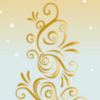 printable bookmark - Gold Gift Tree