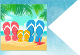 FlipFlops printable Happy Flag