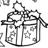 printable Presents and giftboxes galore Christmas Coloring bookmark
