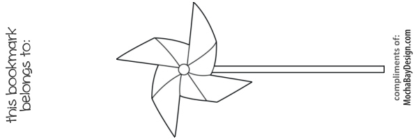 pinwheel coloring pages