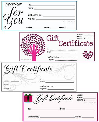 Print gift cards for your business selol ink free printable gift certificates print gift cards for your business colourmoves